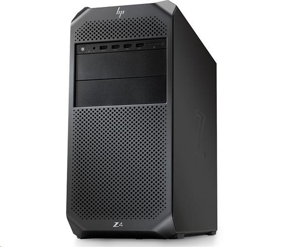 HP Z4 G4, Xeon W-2125, P2000/5GB, 16GB, SSD 256GB + 1TB, DVDRW, W10Pro, 3Y, Windows 7 Ready
