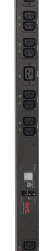 Rack PDU, Metered, Zero U, 10A, 230V, (16) C13, IEC 309