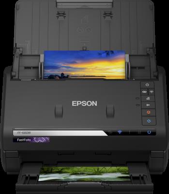 Epson skener FastFoto FF-680W, A4, 600dpi, ADF, duplex, WiFi