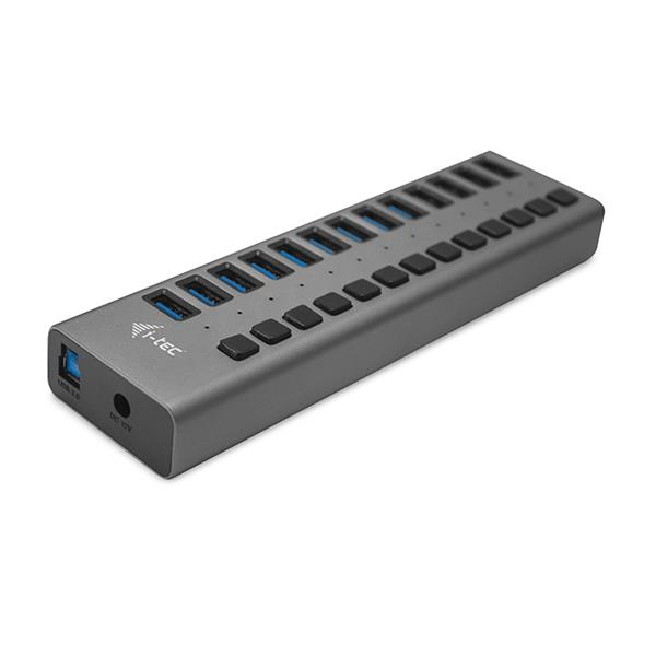 i-tec USB 3.0 Charging HUB 13 Port + Power Adapter 60 W
