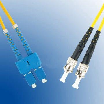 OEM opt. duplex kabel 09/125, SC/ST, 1m