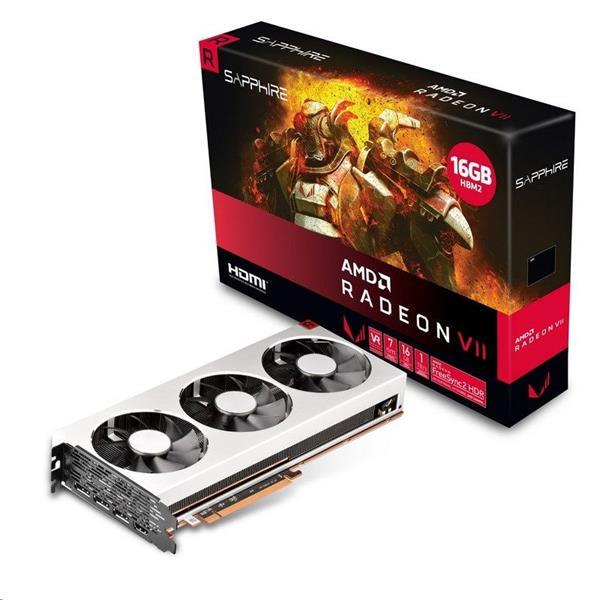 SAPPHIRE Radeon VII 16GB 4096-bit HBM2 HDMI 3xDP