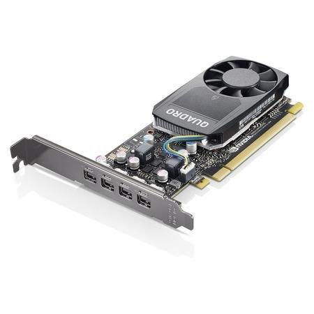 Lenovo Nvidia Quadro P620 2GB GDDR5 Mini DPx4 Graphics Card with HP Bracket