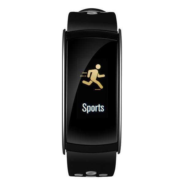 Canyon CNS-SB41BR smart hodinky, Bluetooth, farebný LCD displej 0.96´´, vodotesné IP 68, multišport režim, čierno-šedé