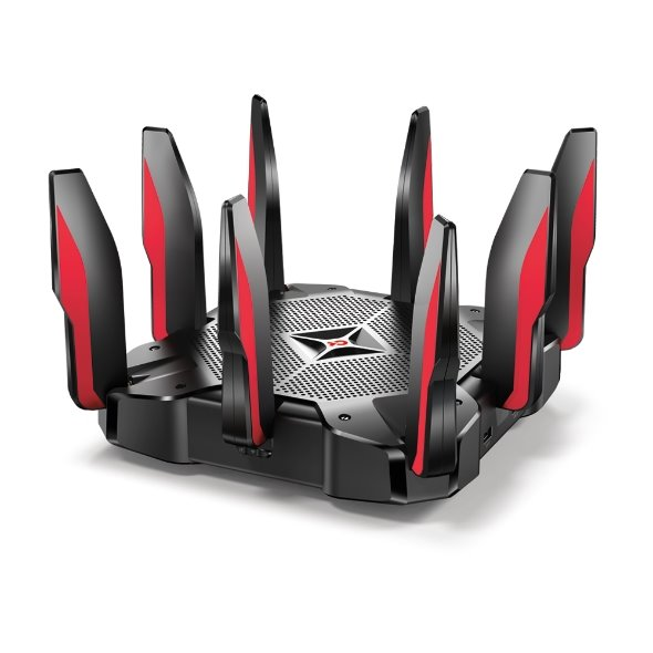 TP-LINK Archer C5400X AC5400 Tri-Band Gaming Router, Broadcom 1.8GHz Quad-Core CPU
