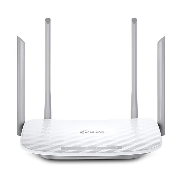 TP-LINK Archer C5 AC1200 Dual-Band Wi-Fi Gigabit Router, 802.11ac/a/b/g/n, 867Mbps at 5GHz + 300Mbps at 2.4GHz