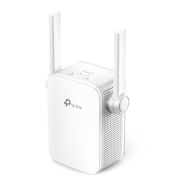TP-LINK TL-WA855RE 300Mbps Wi-Fi Range Extender, Wall Plugged, 2 external antennas, 1 10/100Mbps Port