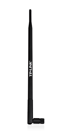 TP-LINK TL-ANT2409CL 2.4GHz 9dBi Indoor Omni-directional Antenna, RP-SMA Connector, L Type, W/O Cradle, W/O Cable