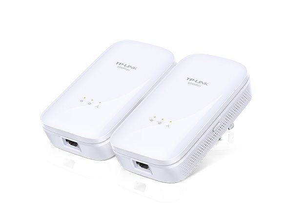 TP-LINK TL-PA8010KIT AV1200 Powerline Starter Kit, Qualcomm, 1 Gigabit Port, 1200Mbps Powerline , 2*2 MIMO