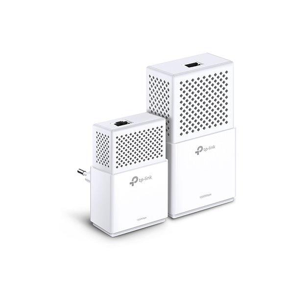 TP-LINK TL-WPA7510KITv2 AV1000 Powerline Wi-Fi KIT, Broadcom, AC750 Wi-Fi,433Mbps at 5GHz + 300Mbps at 2.4GHz