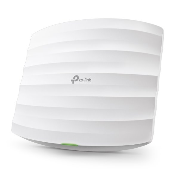TP-LINK EAP225 AC1350 Dual Band Ceiling Mount Access Point, Qualcomm, 867Mbps at 5GHz + 450Mbps at 2.4GHz