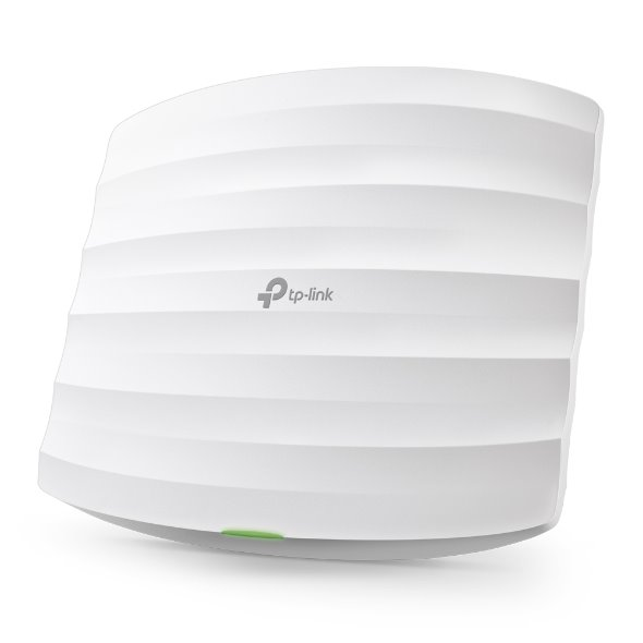 TP-LINK EAP115 2.4GHz N300 Ceiling Mount Access Point, Qualcomm, 1 10/100Mbps LAN, 802.3af PoE