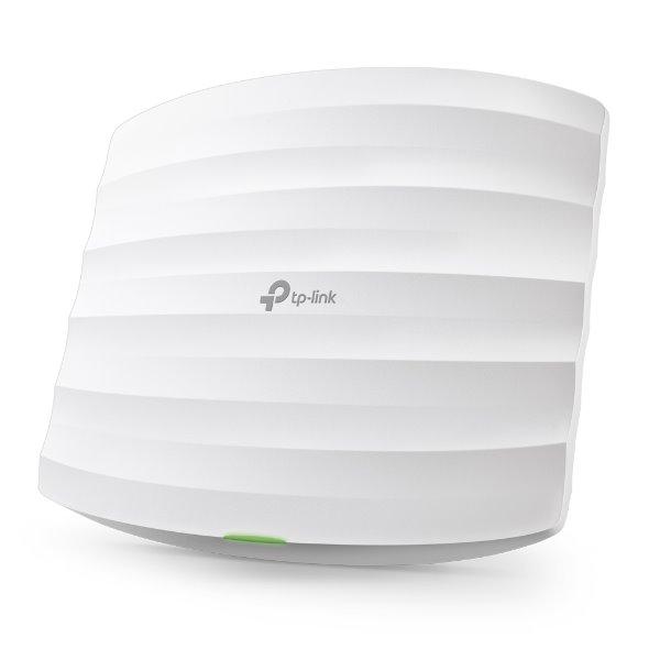 TP-LINK EAP115 2.4GHz N300 Ceiling Mount Access Point, Qualcomm, 1 10/100Mbps LAN, 802.3af PoE