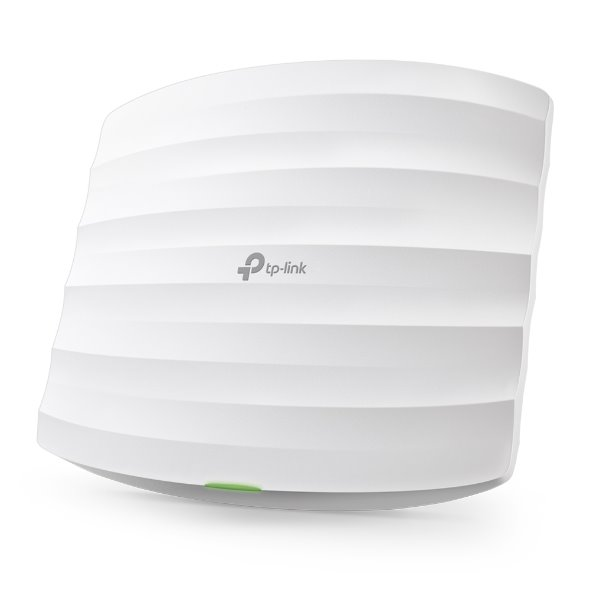 TP-LINK EAP110 2.4GHz N300 Ceiling Mount Access Point, Qualcomm, 1 10/100Mbps LAN, Passive PoE, 2 Internal Antennas