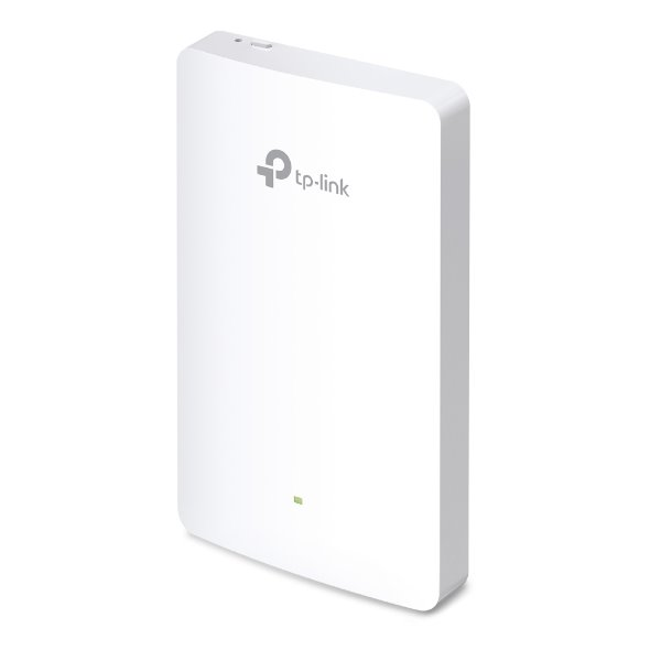 TP-LINK EAP225-wall AC1200 Dual Band Wall-Plate Access Point, Qualcomm, 867Mbps at 5GHz + 300Mbps at 2.4GHz