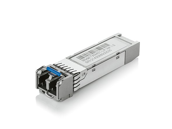 TP-LINK TXM431-LR 10Gbase-LR SFP+ LC Transceiver, 1310nm Single-mode, LC Duplex Connector, Up to 10km Distance