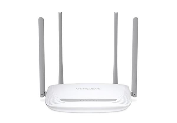 MERCUSYS MW325R 300Mbps Wireless N Router, Qualcomm, 2T2R, 2.4GHz, 802.11b/g/n,1 10/100M WAN+4 10/100M LAN, 4 fix.ant.