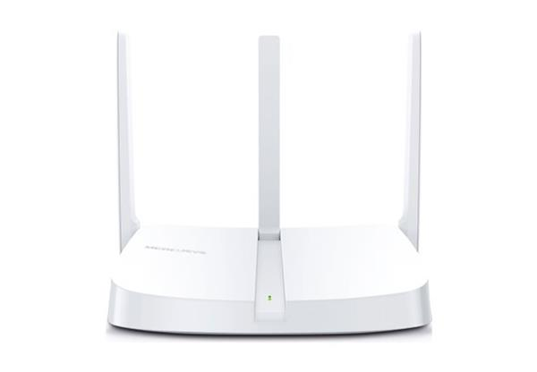 MERCUSYS MW305R 300Mbps Wireless N Router, 1 10/100M WAN + 3 10/100M LAN, 3 fixed antennas