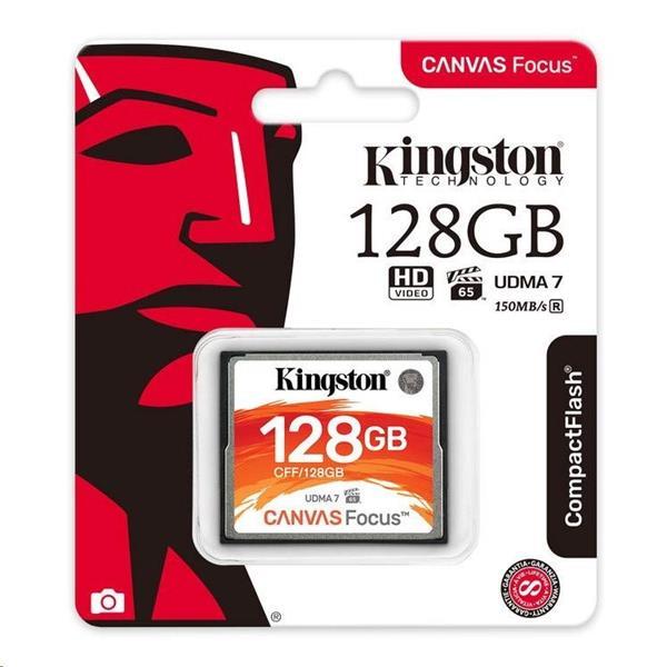 128GB CompactFlash Canvas Focus up to 150R/130W UDMA7 VPG-65