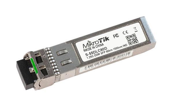 MIKROTIK SFP modul SM 1.25G 1550nm (80km) - industrial