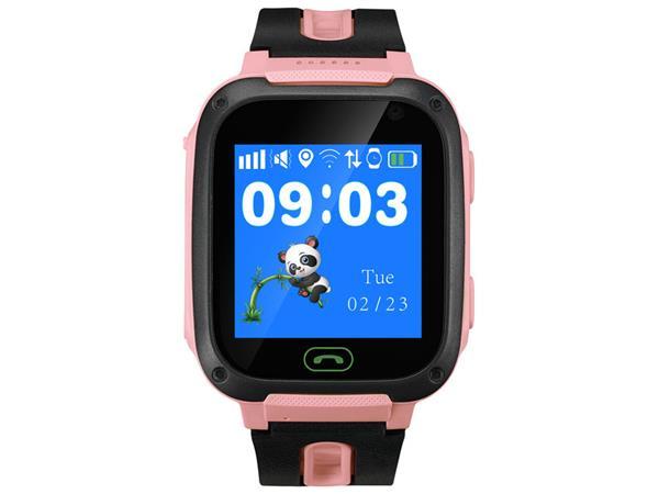Canyon CNE-KW21RR Sammy smart hodinky pre deti, farebný displej 1.44´´, odolné IP65, SOS tlačidlo, telefonovanie