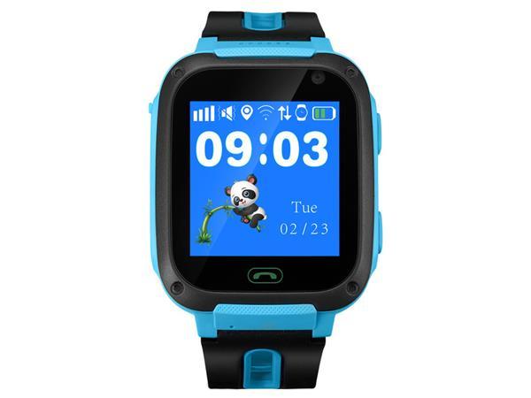 Canyon CNE-KW21BL Sammy smart hodinky pre deti, farebný displej 1.44´´, odolné IP65, SOS tlačidlo, telefonovanie