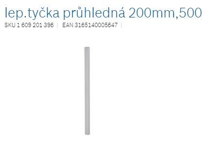 Bosch lep.tycka priehladná 200mm,500