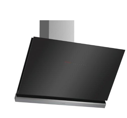 BOSCH_A +, komínový odsávač pár, 90 cm, naklonený, čierny, Home Connect, PerfectAir senzor