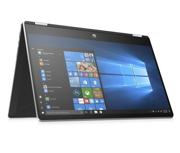 HP Pavilion x360 15-dq0004nc, i5-8265U, 15.6 FHD/IPS, UMA, 8GB, SSD 256GB, noODD, W10, 2-2-0, Natural silver