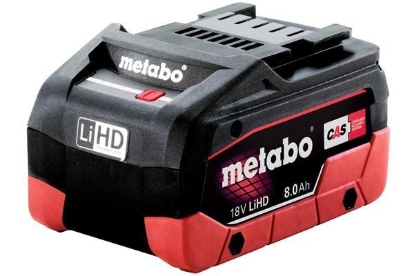 Metabo Akumulátor LiHD 18V - 8,0 Ah