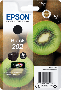 Epson atrament XP-6000 black 6.9ml - 250str.