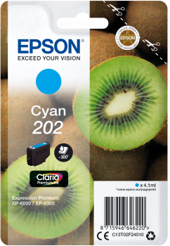 Epson atrament XP-6000 cyan 4.1ml - 300str.