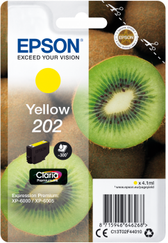 Epson atrament XP-6000 yellow 4.1ml - 300str.