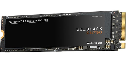 WD Black SN750 500GB SSD PCIe Gen3 8 Gb/s, M.2 2280, NVMe ( r3400MB/s, w2500MB/s )