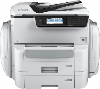 Epson WorkForce Pro WF-C869RDTWF, A3, All-in-One, RIPS, NET, duplex, ADF, Fax, WiFi, NFC
