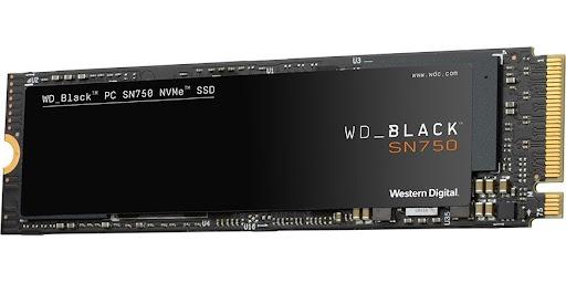 WD Black 2TB SSD PCIe Gen3 8 Gb/s, M.2 2280, NVMe ( r3400MB/s, w2800MB/s )