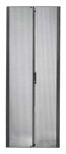 NetShelter SX 42U 750mm Wide Perforated Split Doors Black