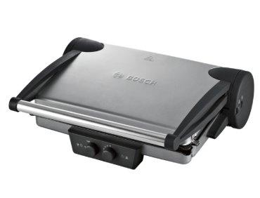 BOSCH_Kompaktný gril, kvalitné pokrmy štýlovo vďaka nezávislej regulácii pre každú grilovaciu platňu
