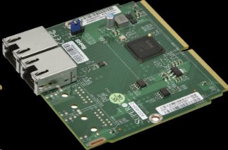 Supermicro/AOC-MGP-i2, DualGigabit Ethernet - MicroLP 2-port GbE card based on Intel i350