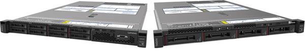 Lenovo ThinkSystem SR530 Xeon Silver 4110 (8C 2.1GHz 11MB Cache/85W) 128GB(4x32GB, 2Rx4 RDIMM), 3x600GB SAS 10k, 930-8i