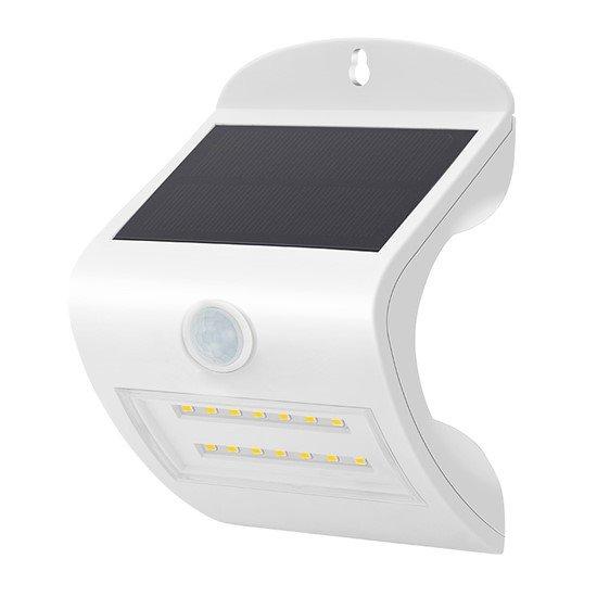 Solight LED solárne svetielko so senzorom, 3W, 350lm, Li-on