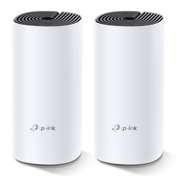 TP-LINK Deco M4(1-Pack) AC1200 Whole-Home Mesh Wi-Fi System, Qualcomm CPU, 867Mbps at 5GHz+300Mbps at 2.4GHz