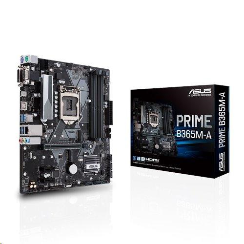 ASUS PRIME B365M-A soc.1151 B365 DDR4 mATX M.2 HDMI DVI VGA