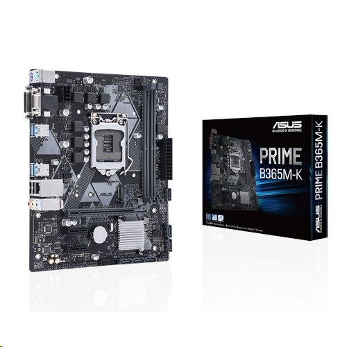 ASUS PRIME B365M-K soc.1151 B365 DDR4 mATX M.2 RAID DVI D-Sub