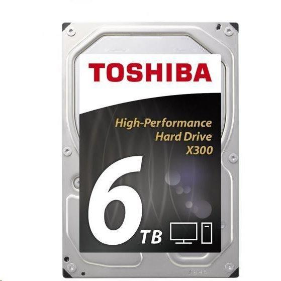 Toshiba HDD Desktop X300 6TB, 3,5