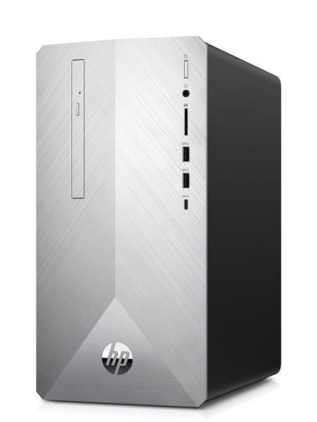 HP Pavilion 595-p0018nc, R5-2600, RX580/4GB, 8GB, SSD 256GB + 1TB 7k2, DVDRW, W10, 2/2/0