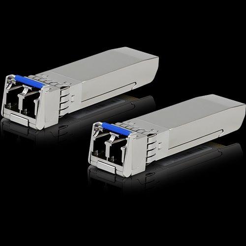 Ubiquiti Mini-GBIC modul SFP+, 10GBASE-LR/LW, singlemode do 10km LC (2 pack)
