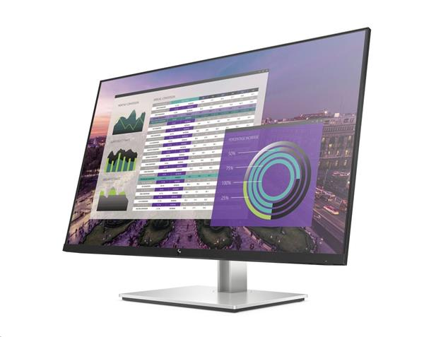 HP EliteDisplay E324q, 31.5 VA, 2560x1440 VA, 3000:1, 7ms, 350cd, HDMI/DP/USB-C, 3y