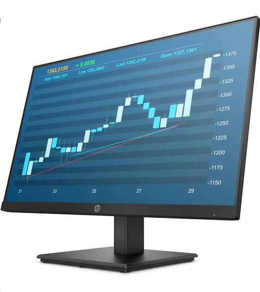 HP ProDisplay P244, 23.8 IPS, 1920x1080, 1000:1, 5ms, 250cd, VGA/DP/HDMI, 3y