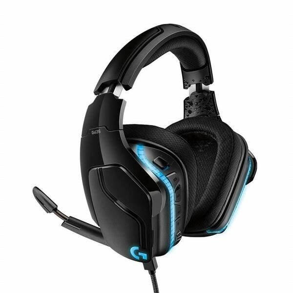 Logitech® G635 Wired 7.1 LIGHTSYNC Gaming Headset